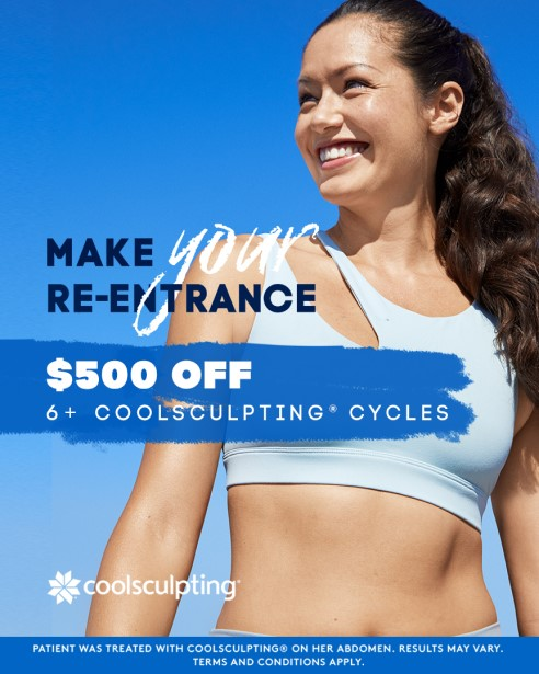 Make your re-entrance with CoolSculpting
